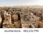 architecture of the old town of ... | Shutterstock . vector #481131790