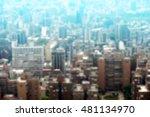 blurred image   urban landscape | Shutterstock . vector #481134970