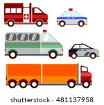 cars icons vector  | Shutterstock .eps vector #481137958
