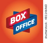box office arrow tag sign. | Shutterstock .eps vector #481146460