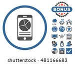 mobile report icon with bonus.... | Shutterstock .eps vector #481166683