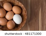Fresh Eggs  And White Eggs ...