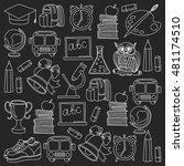 school and education icons | Shutterstock .eps vector #481174510