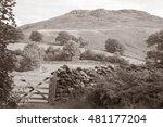 Hill Behind Ashness Bridge ...