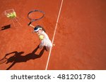 tennis talent practicing... | Shutterstock . vector #481201780