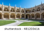 Cloister View In Jeronimos...