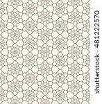 seamless geometric line pattern.... | Shutterstock .eps vector #481222570