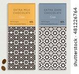 chocolate bar packaging mock up....   Shutterstock .eps vector #481226764