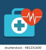 medical concept set icons... | Shutterstock .eps vector #481231600