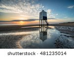 stunning sunset sky over the... | Shutterstock . vector #481235014