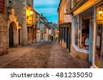 cobbled streets and quaint... | Shutterstock . vector #481235050