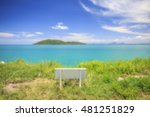 blurred beautiful tropical... | Shutterstock . vector #481251829