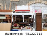 vintage furniture and other... | Shutterstock . vector #481327918