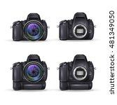 realistic digital camera....   Shutterstock .eps vector #481349050