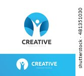 creative people logo | Shutterstock .eps vector #481351030