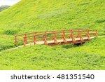 a wooden bridge | Shutterstock . vector #481351540