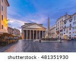 The Pantheon In The Morning ...