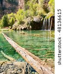 Clear Waters Of Hanging Lake...