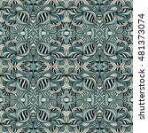 seamless abstract pattern for... | Shutterstock .eps vector #481373074