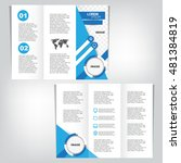 business brochure design | Shutterstock .eps vector #481384819