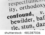 Small photo of Confound