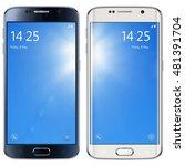 smartphone  mobile phone... | Shutterstock .eps vector #481391704