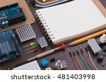 stem education or diy... | Shutterstock . vector #481403998