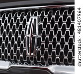 Small photo of HOUSTON, US-SEPT 10, 2016: Close-up metallic logo of Lincoln Motor, a division of Ford Motor Company that sells luxury vehicles. Founded 1917 by Henry Leland, Lincoln is subsidiary of Ford since 1922.