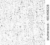 monochrome noisy textured... | Shutterstock .eps vector #481408228