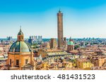 italy  bologna  panoramic view | Shutterstock . vector #481431523