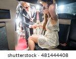 male celebrity helping... | Shutterstock . vector #481444408