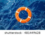 safety equipment  life buoy or... | Shutterstock . vector #481449628