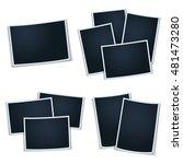 illustration photoframes for... | Shutterstock . vector #481473280