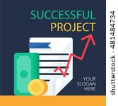 successful investing concept | Shutterstock .eps vector #481484734
