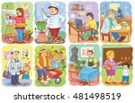 set of pictures about... | Shutterstock . vector #481498519