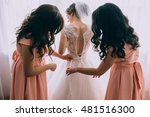 morning of the bride | Shutterstock . vector #481516300