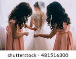 morning of the bride   Shutterstock . vector #481516300