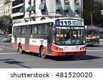 buenos aires   september 11... | Shutterstock . vector #481520020