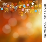Autumn Fall Card  Banner....