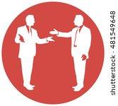 communication between people....   Shutterstock .eps vector #481549648