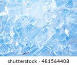 ice for background | Shutterstock . vector #481564408
