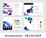 geometric background. template... | Shutterstock .eps vector #481567609
