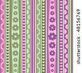 spring  pattern  seamless ... | Shutterstock .eps vector #48156769