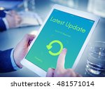 latest update upgrade new... | Shutterstock . vector #481571014