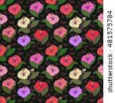 illustration of seamless ... | Shutterstock .eps vector #481575784