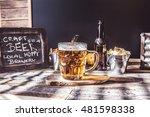 american style craft beer | Shutterstock . vector #481598338
