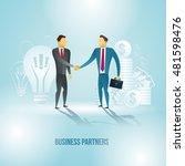 vector illustration. business... | Shutterstock .eps vector #481598476