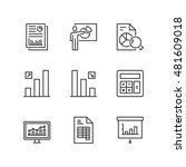 thin line icons set about... | Shutterstock .eps vector #481609018