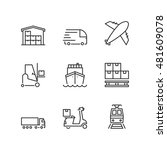 thin line icons set  about... | Shutterstock .eps vector #481609078