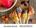 sweet chocolate and caramel... | Shutterstock . vector #481639024
